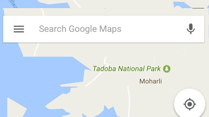 how to download google maps offline india
