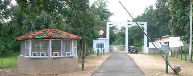 Right Pench Safari Gate
